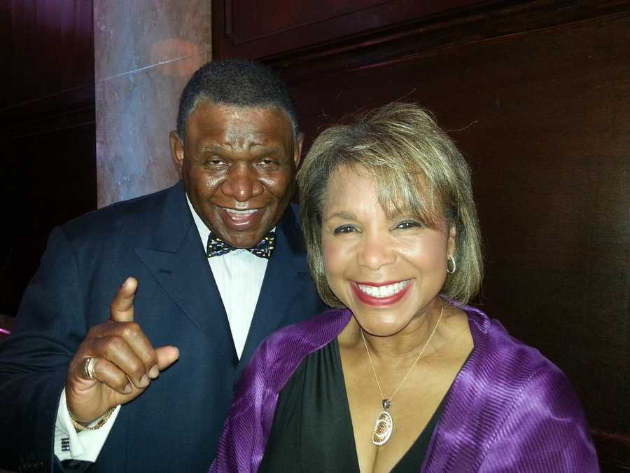 Wanda Starke and comedian George Wallace