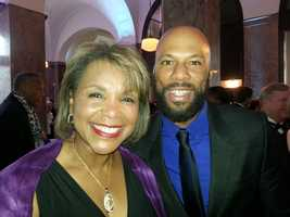 Wanda with rapper and actor Common