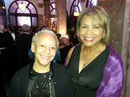 Wanda and poet Nikki Giovanni