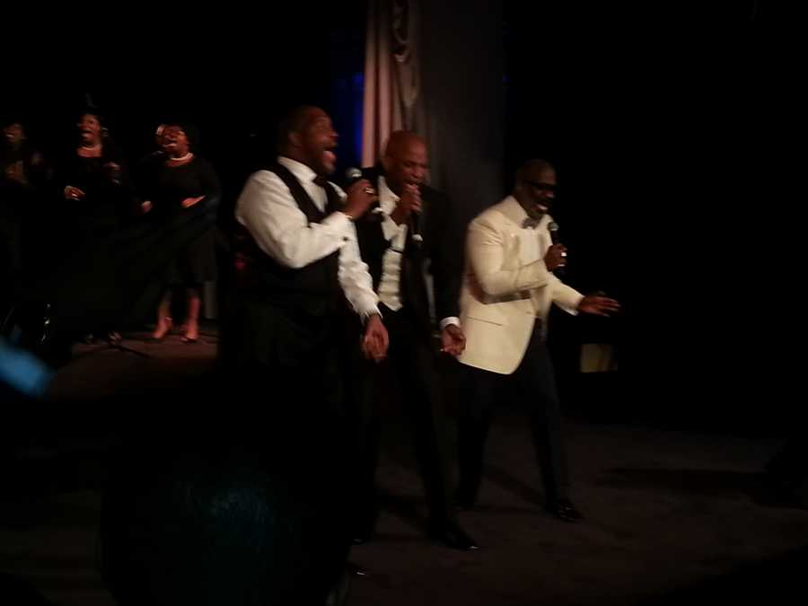 Pastor Marvin Winans, Donnie McClurkin and BeBe Winans