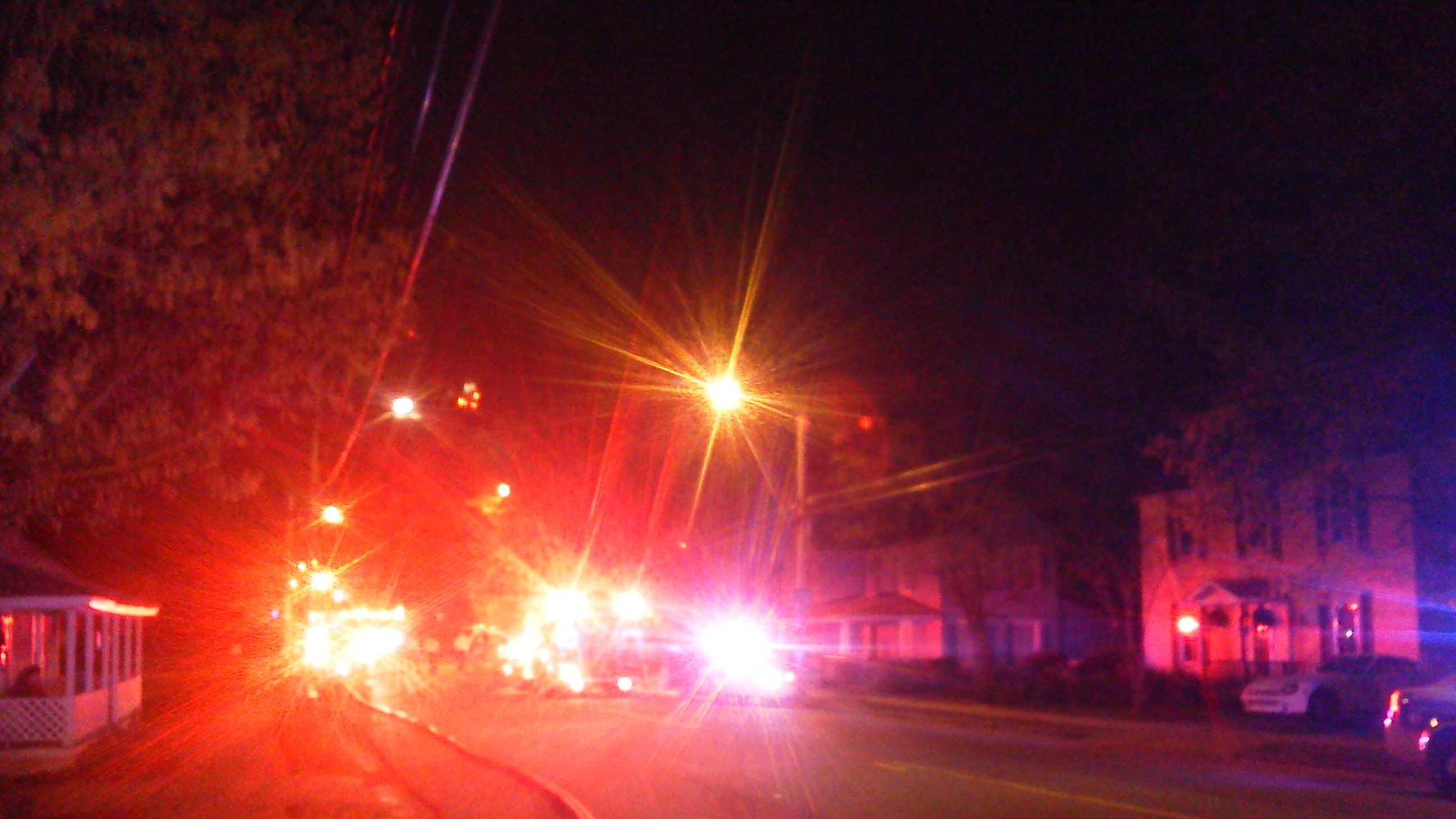 Waughtown Street fire