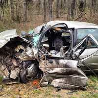 The driver of the Chevrolet car died at the scene.
