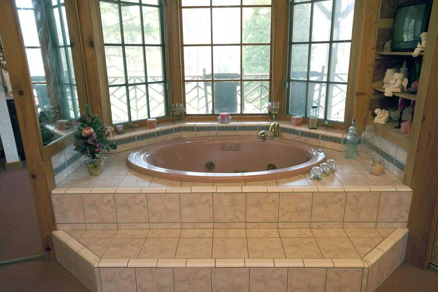 One of four Bathrooms
