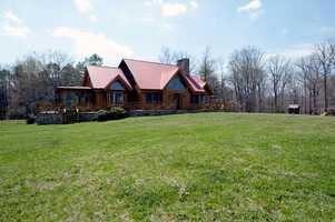 Custom Built Cedar Log Home with four bedrooms