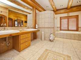 One of six Bathrooms