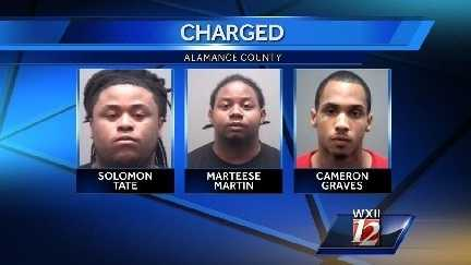 Alamance Co. arrests