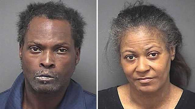 Michael Wilson, left, and Antoinette Wilson, right (Guilford County Sheriff's Office)