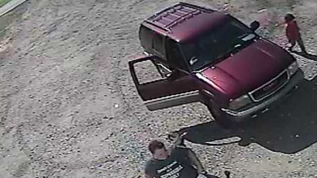 Surveillance image (Yadkin County Sheriff's Office)