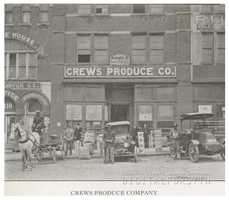 Crews Produce Company, 1918.Courtesy of Forsyth County Public Library Photograph Collection.