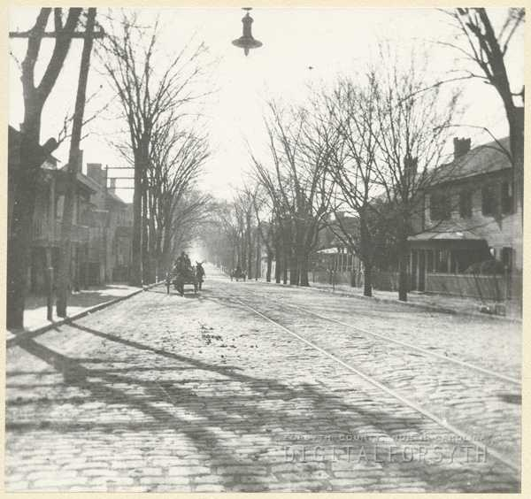Wagon traffic on South Main Street in the 1900s.Courtesy of Forsyth County Public Library Photograph Collection. Thanks to the library for these great photos! If you'd like to see THOUSANDS more, just click here!If you'd like to submit any photos of your own, send them to newstips@wxii12.com.