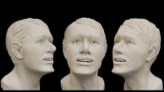 This is a facial approximation of a man found dead in December 2011 near Old Dominion in Thomasville. (Thomasville police)