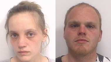 Sarah Burch, left, and Davy Kinley, right (Davidson County Sheriff's Office)