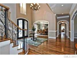 Grand Two-Story Foyer