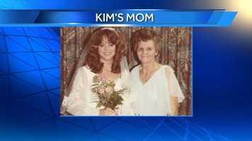WXII 12's Anchor Kimberly's mom.