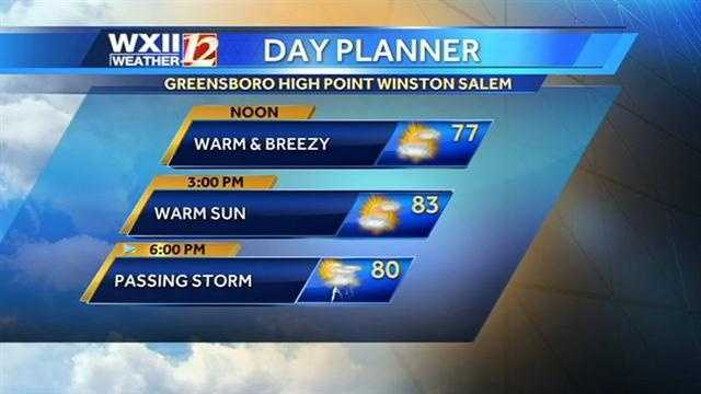 Let's start with Friday's day planner.