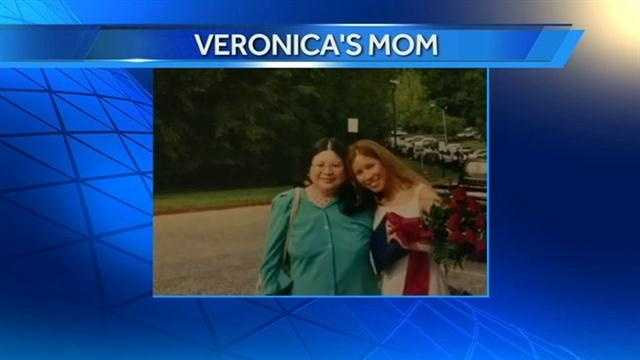WXII 12's Anchor Veronica and her mom.