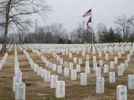 It's worth mentioning that honorably discharged veterans are entitled to be buried in a national cemetery, with a grave space, marker and opening and closing of the grave provided.