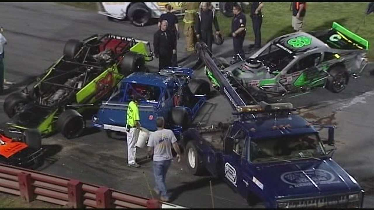 It was an exciting Saturday night at Bowman Gray -- WXII photojournalist Jeff Amernick has a Madhouse recap.