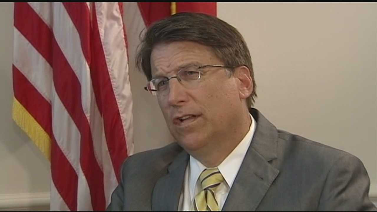 One on One with NC Governor Pat McCrory
