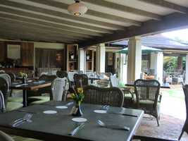 Gaylord's At Kilohana Restaurant was a great place to eat for the group before heading out touring again.