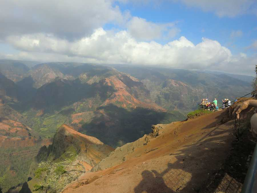 Viewpoint of Ni'ihau Island and wildland picnicking and short nature trail available.