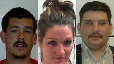 L-R: Jonathan Holyfield, Jasmine Jackson and Jonathan Hall