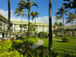 The Maui hotel has another beautiful day for everyone to wake up and get going or just relax.