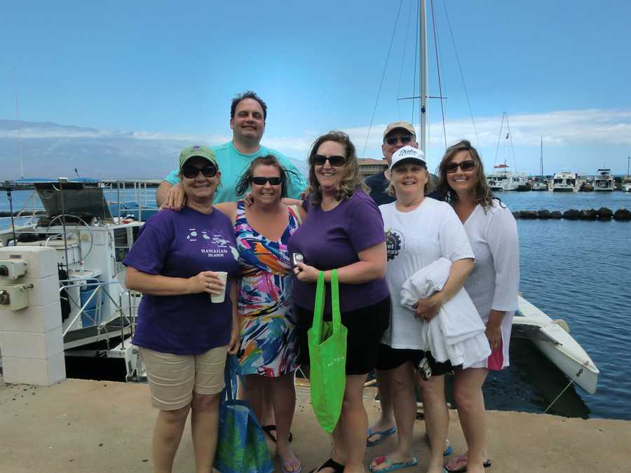 """The Snokel Gang"" in Maui!"