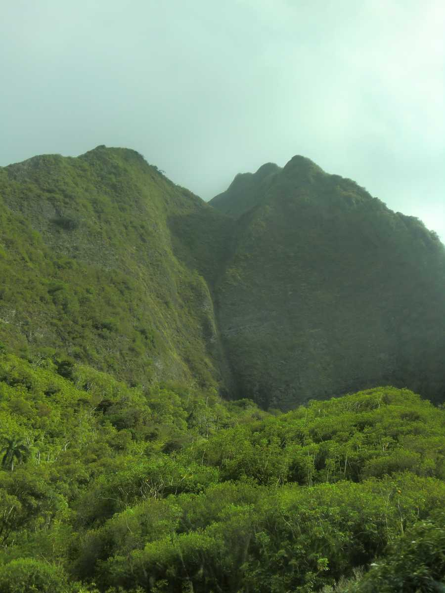 Iao State Park includes the site of the battle of Kepaniwai, where the forces of Kamehameha I conquered the Maui army in 1790.