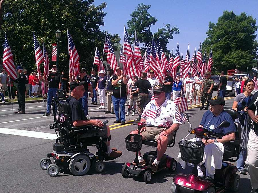 WXII's Ericka Miller uploaded these photos of Memorial Day festivities in Thomasville.