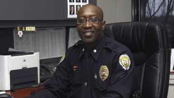 New Winston-Salem police chief Barry Rountree (photo from Winston-Salem Police Department website)