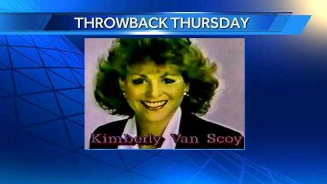 This is Kimberly Van Scoy during her TV days in Anchorage, Alaska!