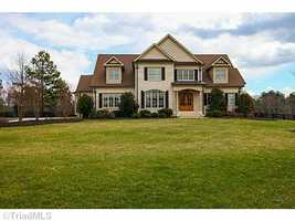 This four bedroom Summerfield home is situated on almost 4 acres and priced at 1,200,000