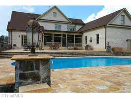 Swimming Pool and Patio Area