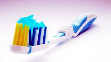 "3. Your Tootbrush. The Science Channel says the average toothbrush has plenty of ""microbe ready"" hiding spots in between its bristles."