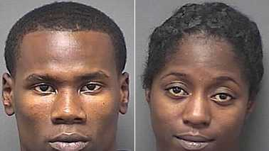 Eric Hyman, left, and Deshquanna Lundy, right