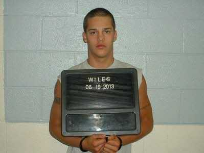 Nicholas Lee Wiles, 19 of Yadkinville was arrested and charged with manufacture of marijuana, PWIMSD Scheduled VI controlled substance, and possession of a weapon of mass destruction.
