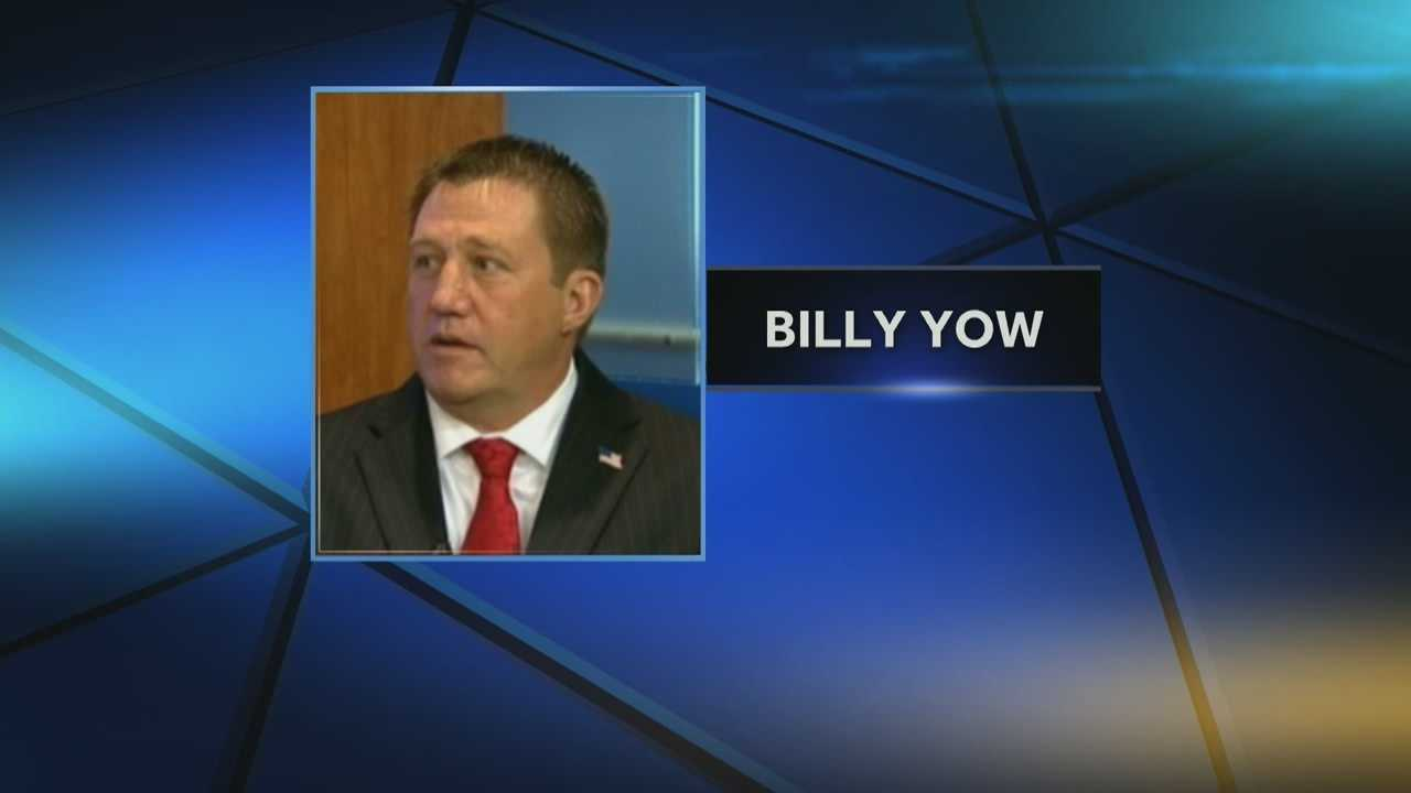 Billy Yow was hospitalized while working at his business. A piece of machinery struck his head and he has undergone surgery and remains in critical condition.