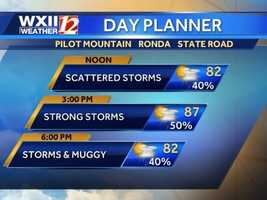 Foothills day planner