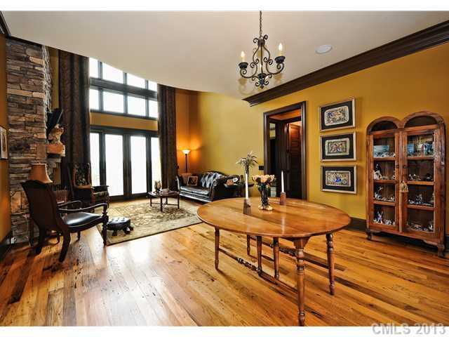 Foyer spills into the Great Room