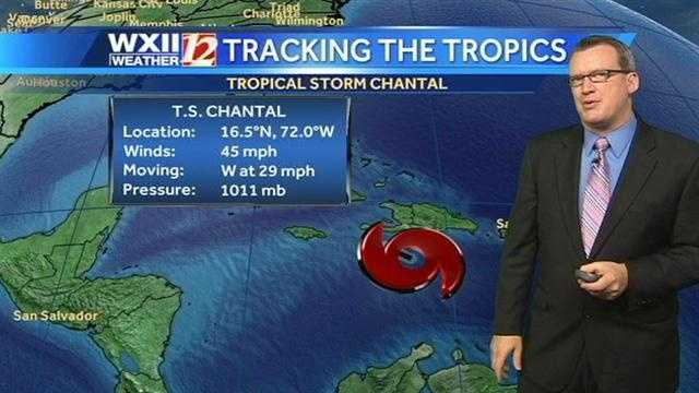 We've updated our tracking slideshow for Tropical Storm Chantal, with images from Brian and MyWeather. | Read latest Chantal story
