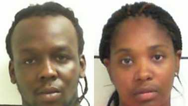 Antonio Keitt, left, and Marquita Ward, right