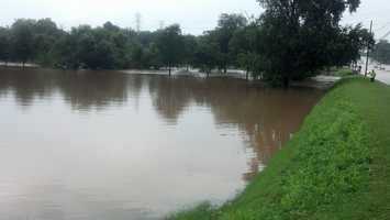 Latham Park flooding (thanks, WXII's Michael Brock) | Upload your photos with 'u local'