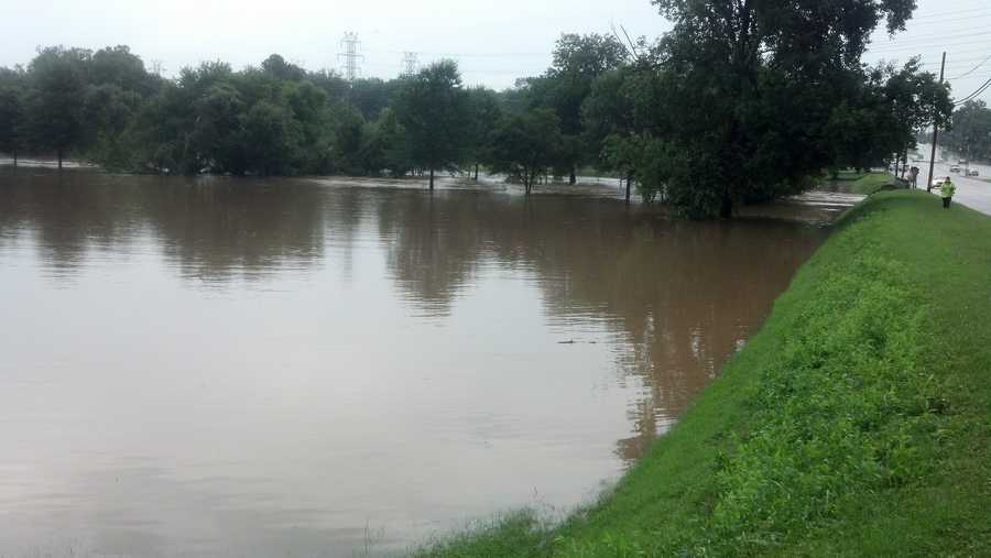Latham Park flooding (thanks, WXII's Michael Brock)   Upload your photos with 'u local'