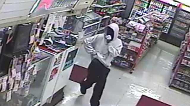 Surveillance image of robbery, murder suspect