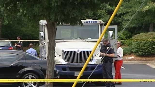 High Point Brinks truck robbery
