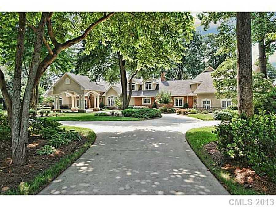 This waterfront Cornelius estate has five bedrooms, seven bathrooms and is priced at $1,999,000.