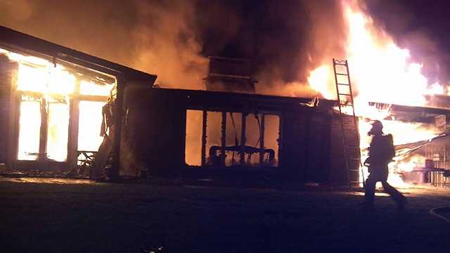 Alleghany County house fire