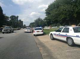 No life-threatening injuries have been reported. One person is being treated at Baptist Hospital.