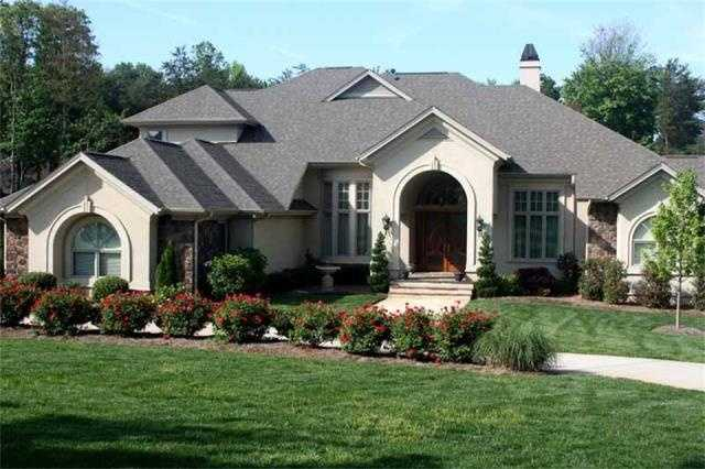 This waterfront/golf course home is located is Mooresville on the 16th green and is priced at$1,899,000. The four bedroom home has beautiful golf course and Lake Norman views.